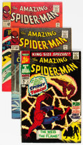 Silver Age (1956-1969):Superhero, The Amazing Spider-Man #31, 33, and Annual #4 Group (Marvel,1965-67) Condition: Average FN.... (Total: 3 Comic Books)