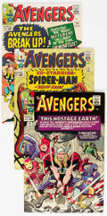 Silver Age (1956-1969):Superhero, The Avengers #10-15 Group (Marvel, 1964-65) Condition: AverageFN-.... (Total: 6 Comic Books)
