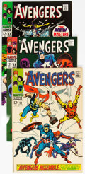 Silver Age (1956-1969):Superhero, The Avengers Group of 4 (Marvel, 1968). Includes i...
