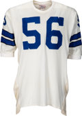 Football Collectibles:Uniforms, Early 1970's Tom Stincic Game Worn Dallas Cowboys Jersey....