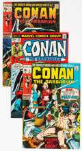 Bronze Age (1970-1979):Adventure, Conan the Barbarian Group of 7 (Marvel, 1970-73) Condition: Average FN/VF.... (Total: 7 Comic Books)