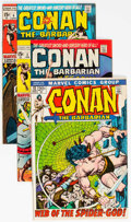 Bronze Age (1970-1979):Adventure, Conan the Barbarian Group of 7 (Marvel, 1971-73) Condition: Average FN.... (Total: 7 Comic Books)