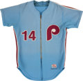 Baseball Collectibles:Uniforms, 1973 Tom Hutton Game Worn Philadelphia Phillies Jersey. . ...