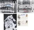 Basketball Collectibles:Others, 1990's Basketball Greats Signed First Day Cachets & Ephemera. ....