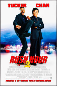 "Rush Hour 2 & Others Lot (New Line, 2001). One Sheets (6) (27"" X 40"") DS Advance, 3 Styles. Action. ... (T..."
