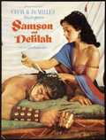 """Movie Posters:Adventure, Samson and Delilah (Paramount, 1949). Program (Multiple Pages) (9""""X 12""""). Adventure...."""