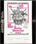 "Movie Posters:Elvis Presley, Paradise, Hawaiian Style (Paramount, 1966). Pressbooks (2)(Multiple Pages) (12"" X 15"") and ""The Trouble With Girls"" (12"" X... (Total: 2 Items)"