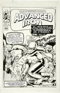 Original Comic Art:Covers, Bob Layton - Tales of Suspense #41 Cover Recreation Original Art(2006)....