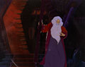 Animation Art:Production Cel, The Lord of the Rings Saruman Production Cel and MasterPainted Background (Ralph Bakshi, 1978).... (Total: 2 )