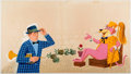 """Original Comic Art:Illustrations, Art Seiden Tip Top Tales #2488 """"Snagglepuss: The Way To Be aKing"""" Double-Page Spread 20-21 Group of 2 Original Ar... (Total: 2Original Art)"""