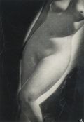 Photographs:Gelatin Silver, Emery P. Reves-Biro (Hungarian, 1895-1975). Untitled (Nude Torso), 1930s. Gelatin silver. 13-1/2 x 9-3/8 inches (34.3 x ...