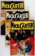 Pulps:Detective, Nick Carter Magazine Box Lot (Street & Smith, 1933-36)Condition: Average VG-.... (Total: 36 Items)