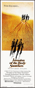 "Movie Posters:Science Fiction, Invasion of the Body Snatchers (United Artists, 1978). Insert (14"" X 36""). Science Fiction.. ..."