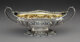 A Gorham Partial Gilt Silver Sample Pattern Bowl with Oak Leaf and Acorn Motif, Providence, Rhode Island, circa 1898-190...