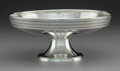 Silver Holloware, American, A Tiffany & Co. Silver Compote, New York, New York...