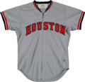 Baseball Collectibles:Uniforms, 1974 Ray Busse Game Worn Houston Astros Jersey. ...