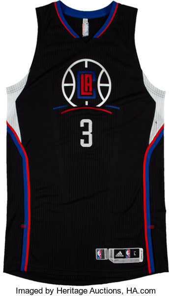 e9472e7f934 ... Basketball Collectibles:Uniforms, 2015-16 Chris Paul Game Worn Los  Angeles Clippers Jersey ...