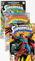Modern Age (1980-Present):Superhero, Adventures of Superman 3/4 Long Box (DC, 1987-2006) Condition: Average VF....