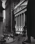 Photographs, Berenice Abbott (American, 1898-1991). New York Stock Exchange, 1936. Gelatin silver, printed later. 9-1/2 x 7-1/2 inche...