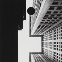 Beaumont Newhall (American, 1908-1993) Chase National Bank, New York, 1928 Gelatin silver 10 x 10