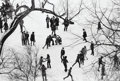 Photographs, André Kertész (Hungarian, 1894-1985). Washington Square, March 19, 1969. Gelatin silver. 6-1/2 x 9-5/8 inches (16.5 x 24...
