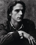 Photographs:Gelatin Silver, Anthony Armstrong Jones, 1st Earl of Snowden (British, 1930-2017).Jeremy Irons, 1981. Gelatin silver. 20 x 16 inches (5...