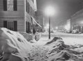 Photographs, Marion Post Wolcott (American, 1910-1990). Main Street, After Blizzard, Woodstock, Vermont, 1940. Gelatin silver, 1977. ...