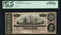 Confederate Notes:1864 Issues, T67 $20 1864 PF-36 Cr. 536.. ...