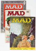 Magazines:Mad, MAD Magazine Group of 7 (EC, 1956-58) Condition: Average VG/FN....(Total: 7 )
