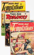 Golden Age (1938-1955):Romance, Matt Baker Related Golden Age Romance Comics Group of 7 (VariousPublishers, 1950s) Condition: Average GD-.... (Total: 7 )