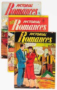 Pictorial Romances Group of 4 (St. John, 1951).... (Total: 4 Comic Books)