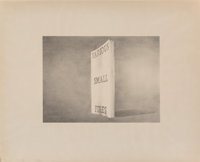 Ed Ruscha (b. 1937) Various Small Fires, from the Book Covers series, 1970 Lithograph on