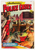 Golden Age (1938-1955):Crime, Authentic Police Cases #9 (St. John, 1950) Condition: VG....