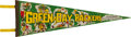 Football Collectibles:Others, Circa 1970's Green Bay Packers Pennant. ...