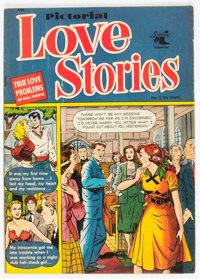 Pictorial Love Stories #1 (St. John, 1952) Condition: VG+