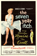 """Movie Posters:Comedy, The Seven Year Itch (20th Century Fox, 1955). British Double Crown(20"""" X 30"""").. ..."""