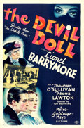 "Movie Posters:Horror, The Devil Doll (MGM, 1936). One Sheet (27"" X 41"") ..."