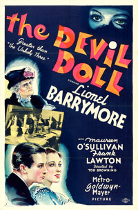 """The Devil Doll (MGM, 1936). One Sheet (27"""" X 41"""") Style D"""