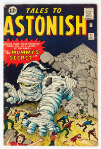 Tales to Astonish #31 (Marvel, 1962) Condition: VG-