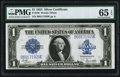 Large Size:Silver Certificates, Fr. 238 $1 1923 Silver Certificate PMG Gem Uncirculated 65...