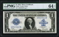 Large Size:Silver Certificates, Fr. 238 $1 1923 Silver Certificate PMG Choice Uncirculated 64 EPQ.....