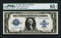 Large Size:Silver Certificates, Fr. 238 $1 1923 Silver Certificate PMG Gem Uncirculated 65 EPQ.....