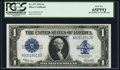 Large Size:Silver Certificates, Fr. 237 $1 1923 Silver Certificate PCGS Gem New 65PPQ....