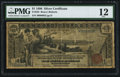 Large Size:Silver Certificates, Fr. 225 $1 1896 Silver Certificate PMG Fine 12.. ...