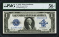 Large Size:Silver Certificates, Fr. 238 $1 1923 Silver Certificate PMG Choice About Unc 58...