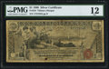 Large Size:Silver Certificates, Fr. 224 $1 1896 Silver Certificate PMG Fine 12.. ...