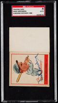Autographs:Index Cards, Signed 1938 Goudey Hank Greenberg #253 SGC Authentic. ...