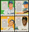 Baseball Cards:Sets, 1955 Red Man (With Tabs) Baseball Complete Set (50). ...