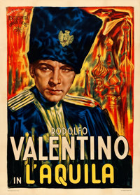 "The Eagle (Omnia Films, R-1940s). Italian 2 - Fogli (39"" X 55"") Paolo Tarquini Artwork"