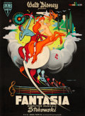 "Movie Posters:Animation, Fantasia (RKO, 1945). First Post-War Release French Grande (45"" X 61"").. ..."